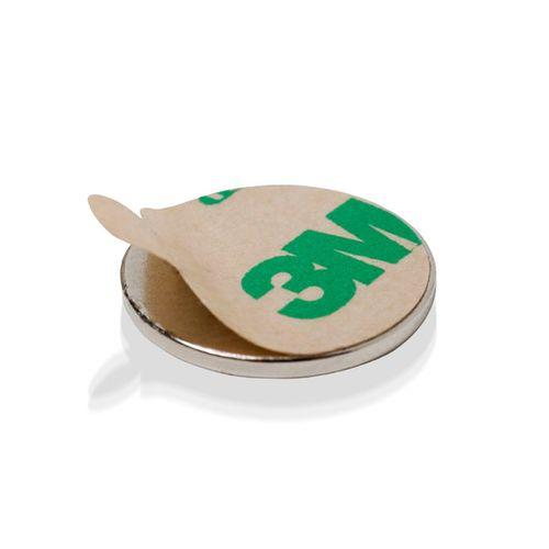 Neodímium  korong, öntapadós (set 2 db)